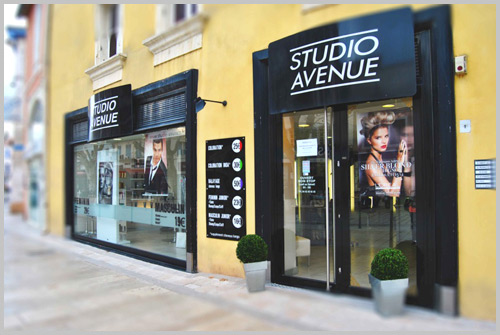 studio avenue salons de coiffure haut gamme accessibles sur tout le sud est la france et en. Black Bedroom Furniture Sets. Home Design Ideas